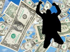 лотерея, выигрыш денег