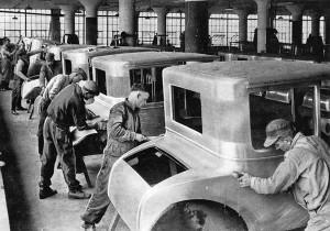 Генри Форд, завод автомобилей Ford