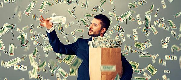 Альтруист раздает деньги